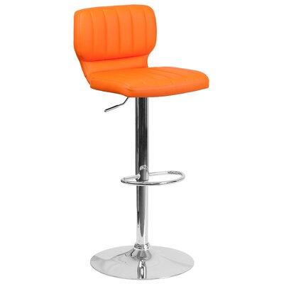 Modern Orange Bar Counter Stools Allmodern