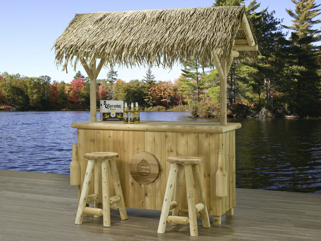Corona Corona Tiki Bar Amp Reviews Wayfair