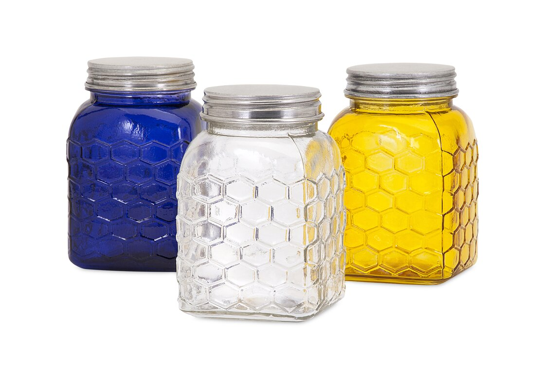 Honey Bee Kitchen Canister Set