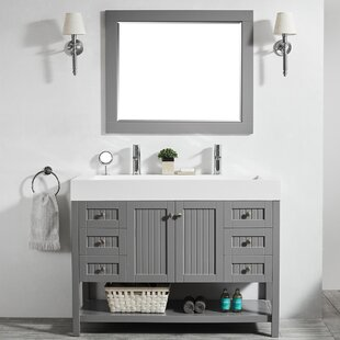 47 inch vanity wayfair rh wayfair com Double Sink Bathroom Vanities Under Bathroom Vanity 12 Inches