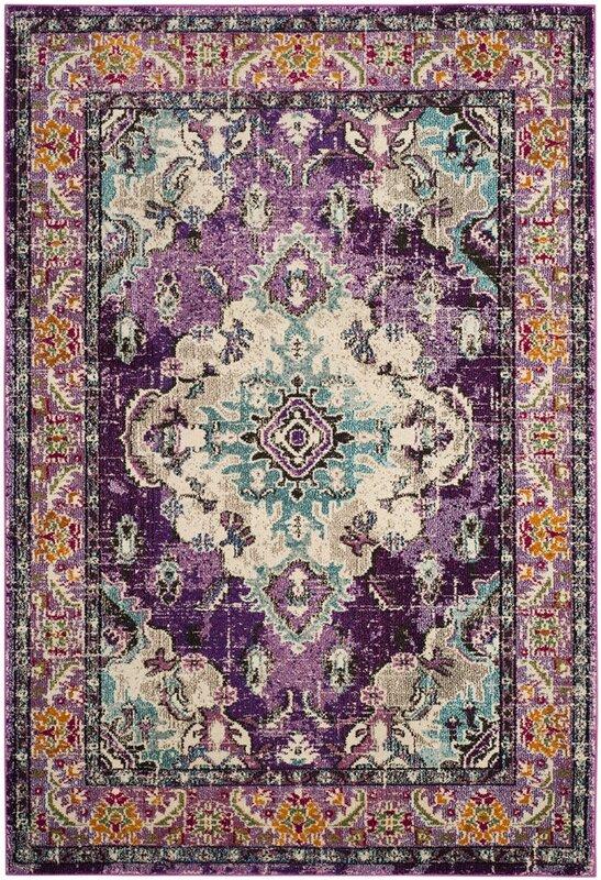 newburyport violetlight blue area rug