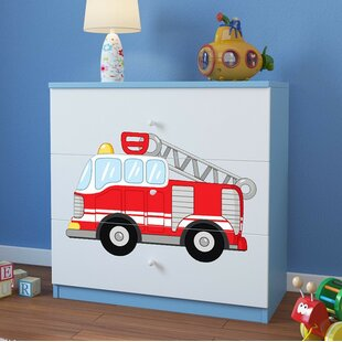 Cavallo 3 Drawer Chest of Drawers by Zoomie Kids