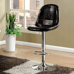 Styx Adjustable Height Swivel Bar Stool b..