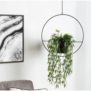 Isai Hoop Metal Hanging Planter