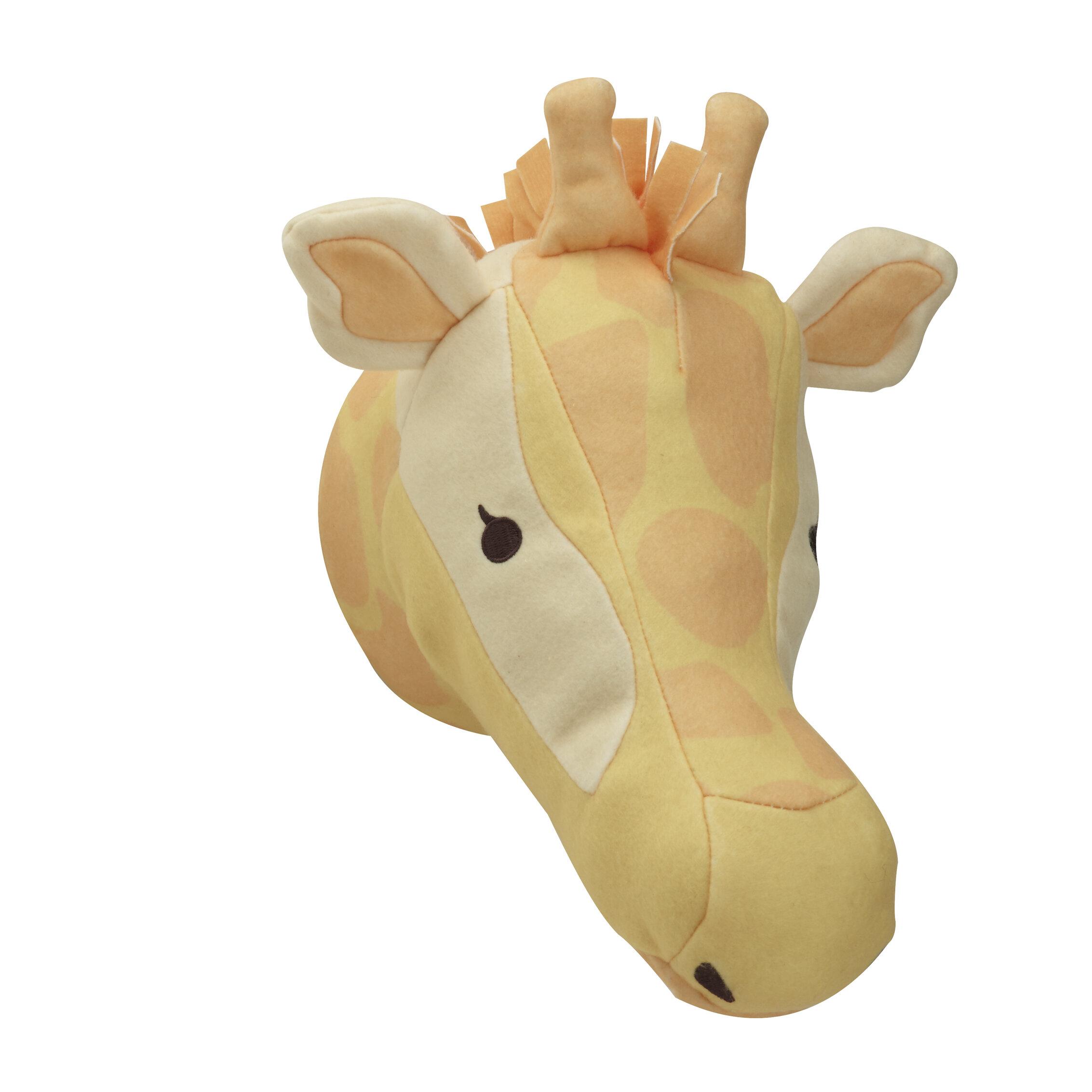NoJo Zoobilee Plush Giraffe Plush Head Wall Décor | Wayfair