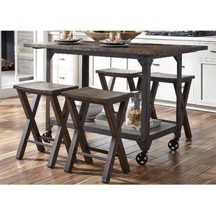 Gillan 5 Piece Pub Table Set