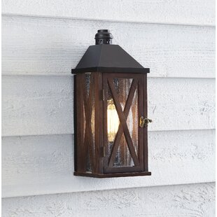 Hampton bay outdoor lighting wayfair sandy bay outdoor wall lantern mozeypictures Images
