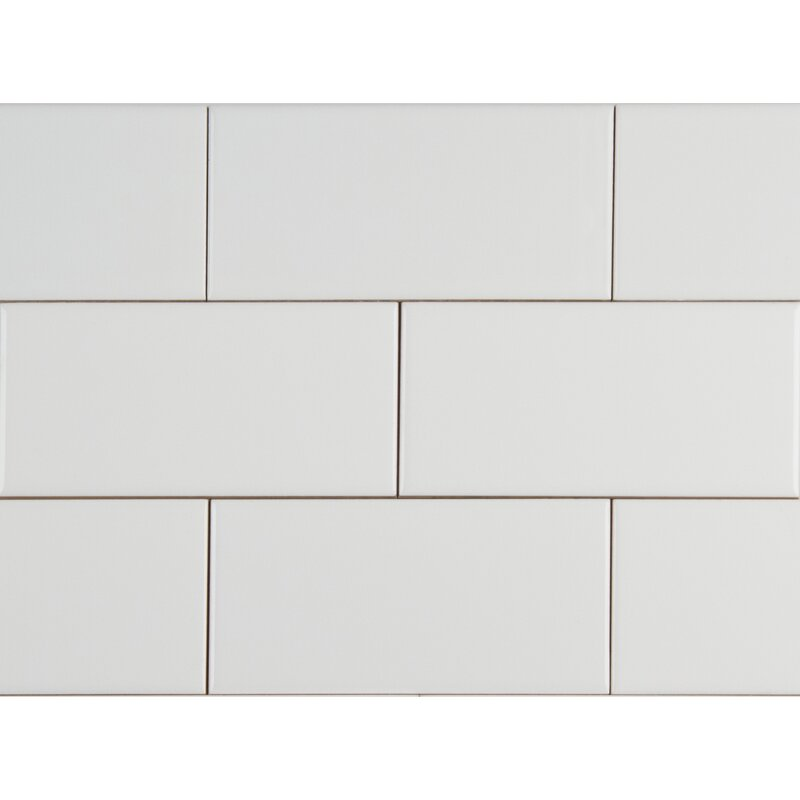 Glossy 4 X 16 Ceramic Subway Tile