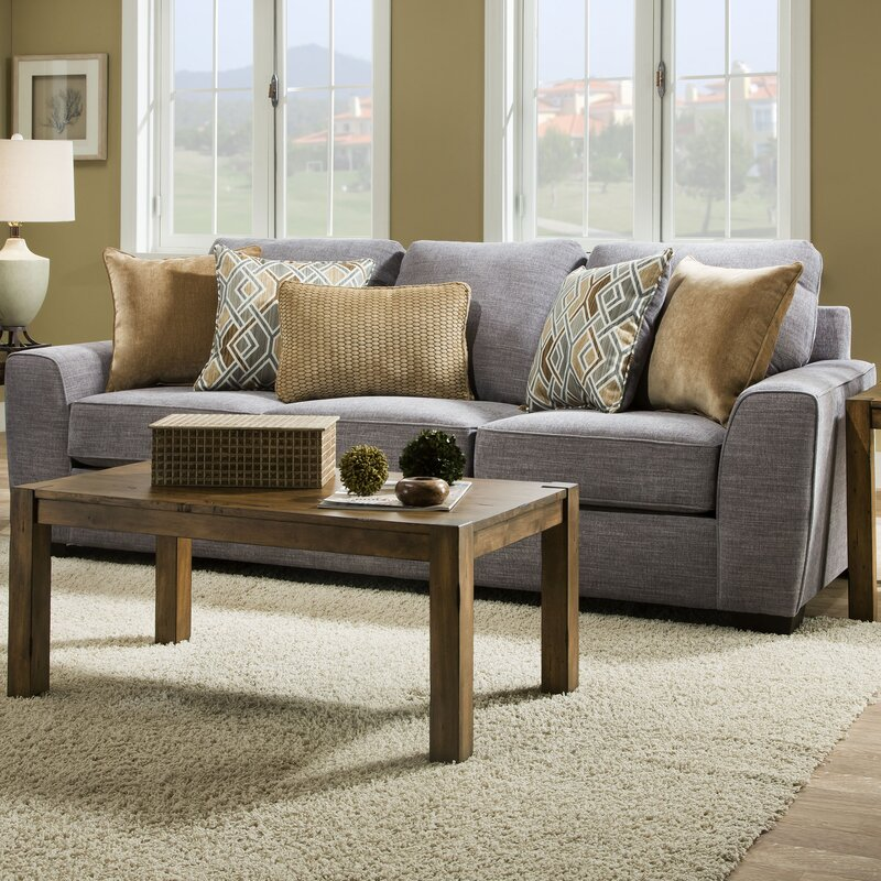 Simmons Microfiber Sofa Reviews Zipcode Design Ackers