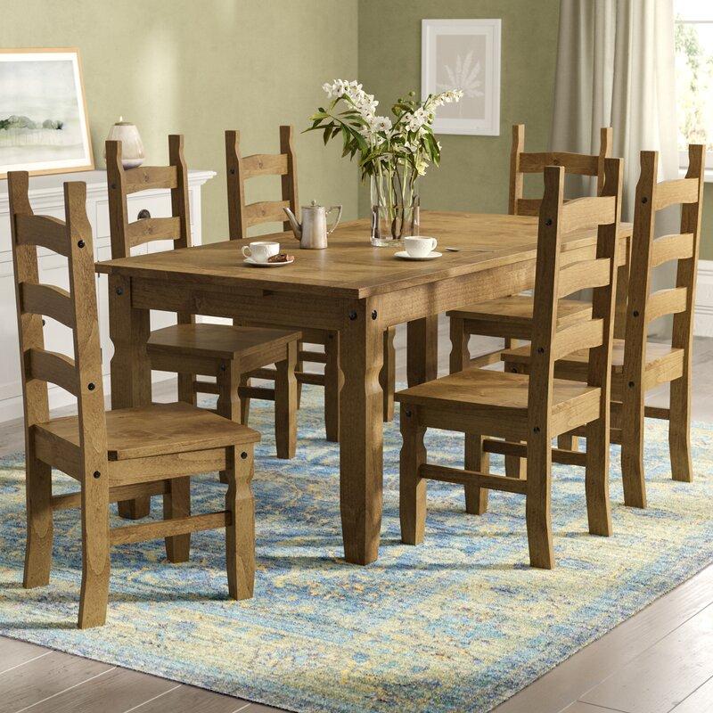 home haus essgruppe classic corona mit 6 st hlen bewertungen. Black Bedroom Furniture Sets. Home Design Ideas