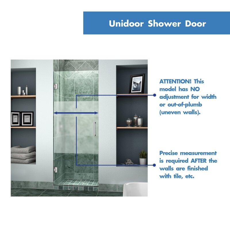 frameless door sliding new doors products pivot dreamline in socielle swing co shower hinged