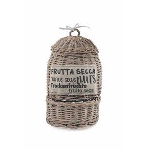 La Cucina Dried Fruit Wicker Basket By Villa D\'Este Home | Up To 70% Off
