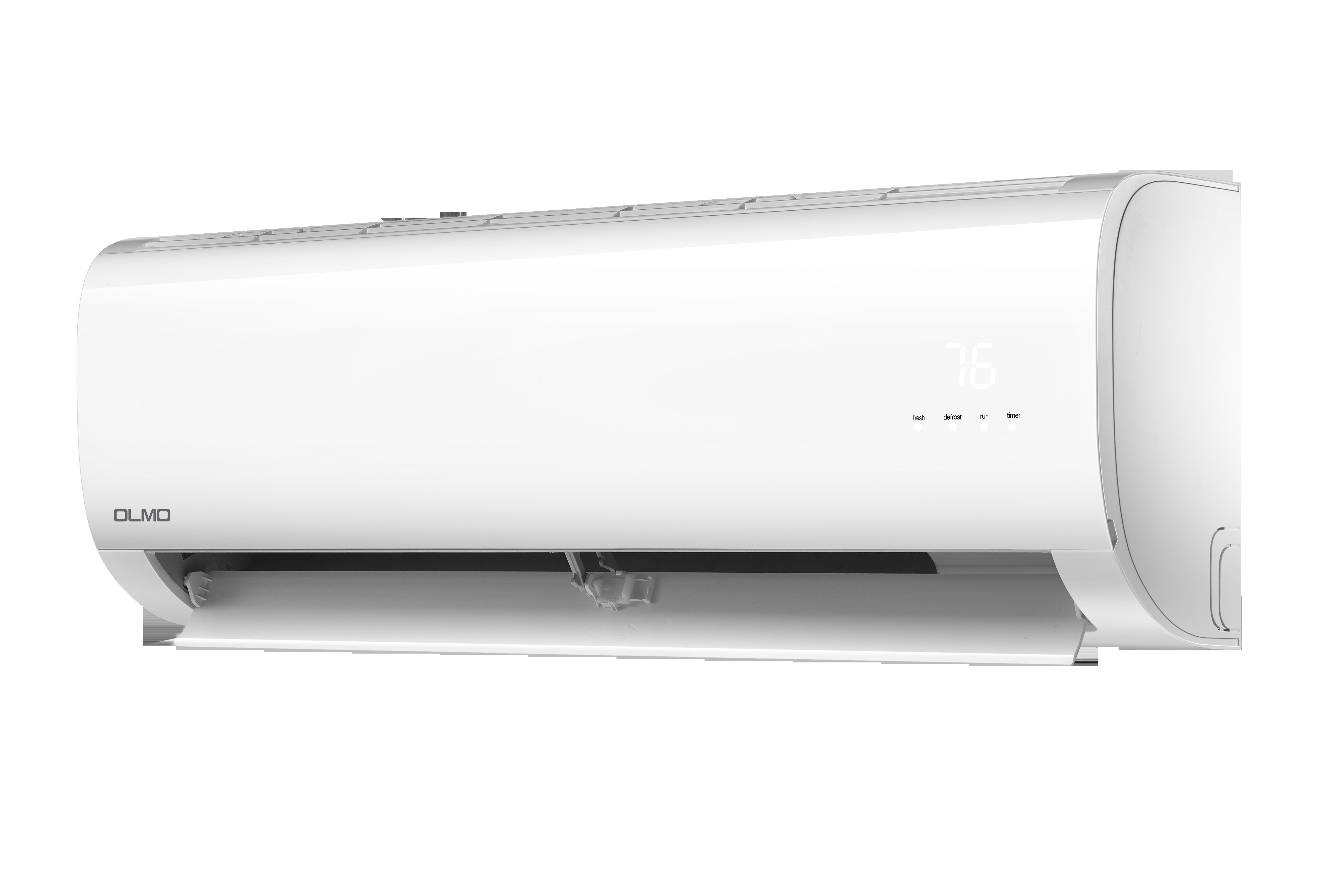 Alpic 12,000 BTU Ductless Mini Split Air Conditioner with Heater and on