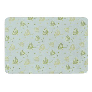 Floating Dandelion  Original Memory Foam Bath Mat