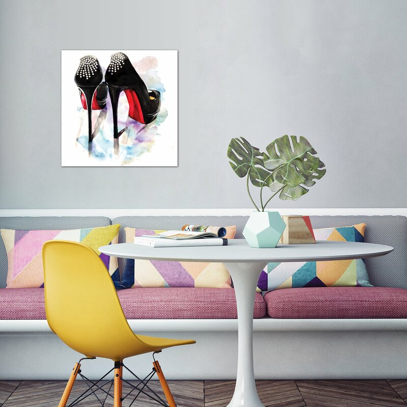 52666ba5e5ee Willa Arlo Interiors  Christian Louboutin Classic Heels  Painting on ...