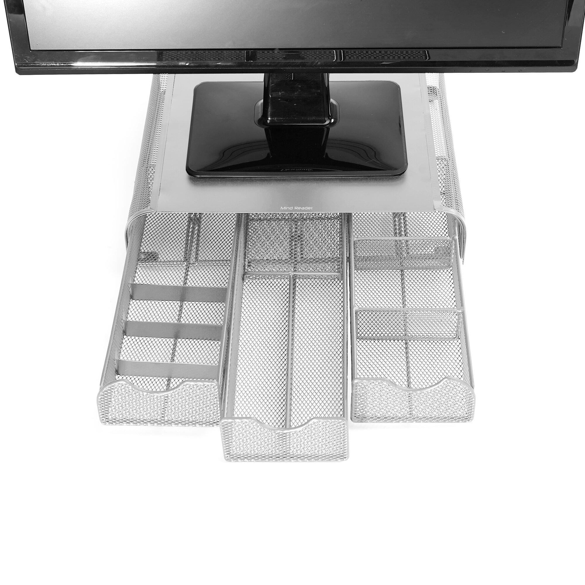 Mind Reader Metal Mesh ' Perch' PC, Laptop, IMAC Monitor