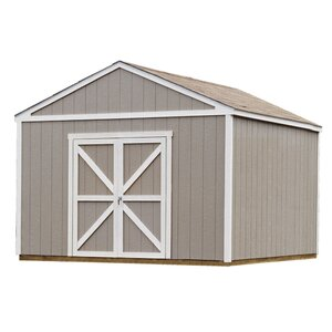 Premier Series 12 Ft 6 In W X 12 Ft 3 In D Wooden Storage Shed