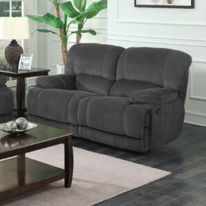Emily Reclining Loveseat by Red Barrel..
