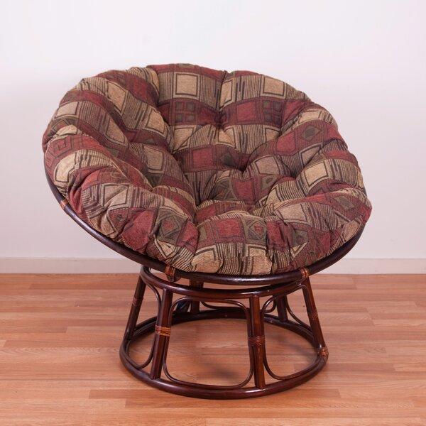 Blazing Needles Chenille Papasan Chair Cushion Reviews Wayfair