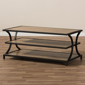 Pietrzak Rustic Industrial Style Coffee Table by Gracie Oaks