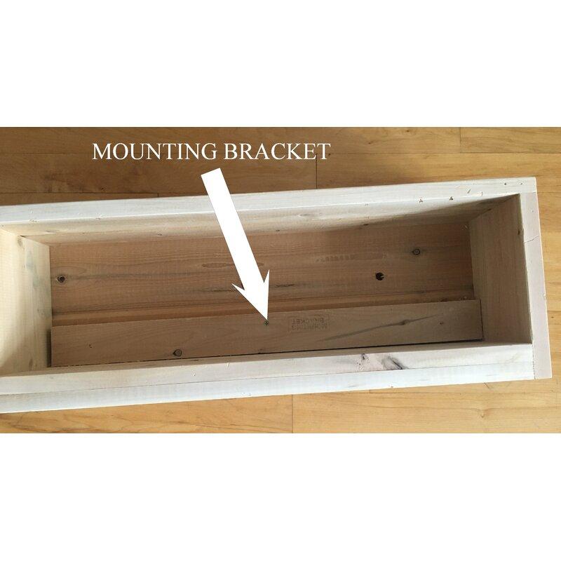 Cedar Wood Window Box Planter