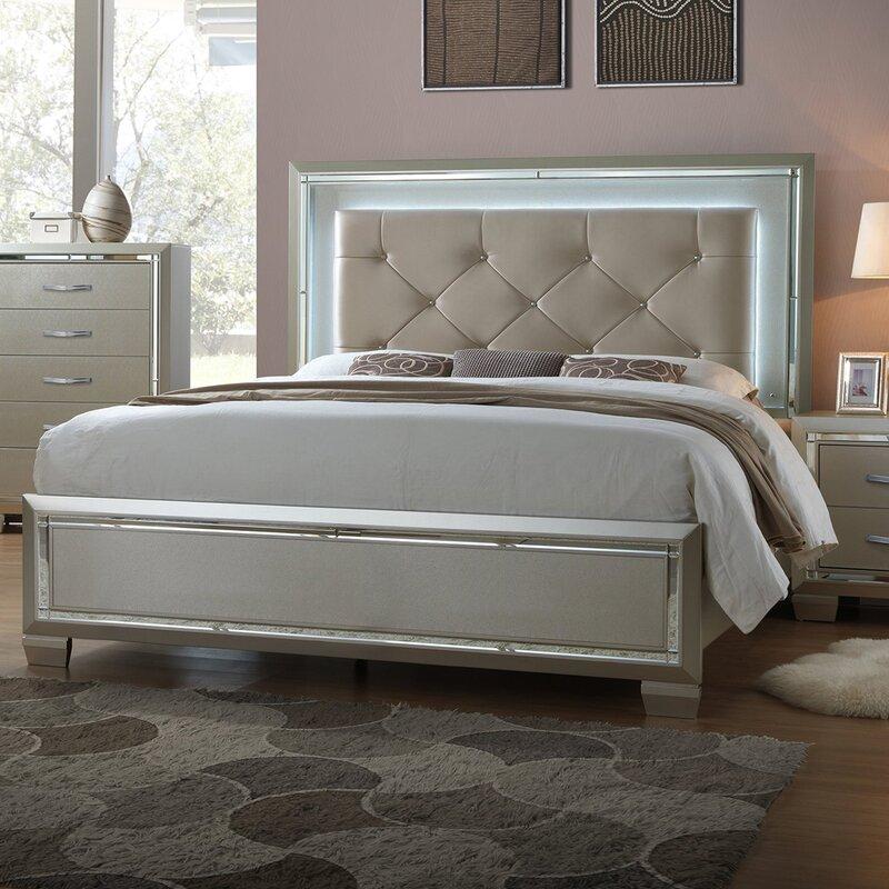 Domenick Full Upholstered Platform Bed Frame With Slide Out Trundle