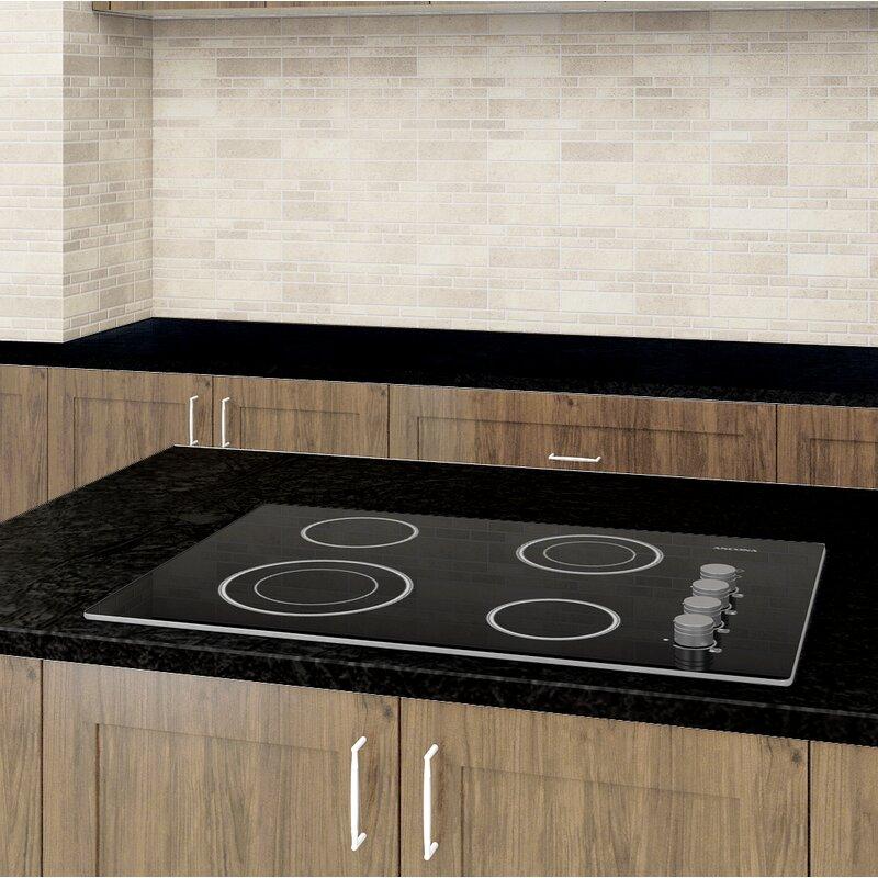 Ancona Select Ceramic 30 Electric Cooktop With 4 Burners Wayfair