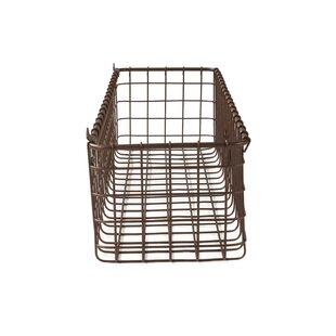 Wire Wall Mounted Baskets   Wayfair