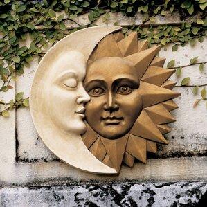 Celestial Harmony Sun & Moon Wall Décor