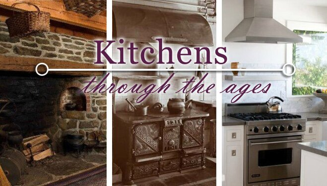 Furniture Design Through The Ages kitchens through the ages | wayfair