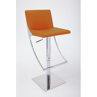 Sonic Adjustable Height Swivel Bar Stool