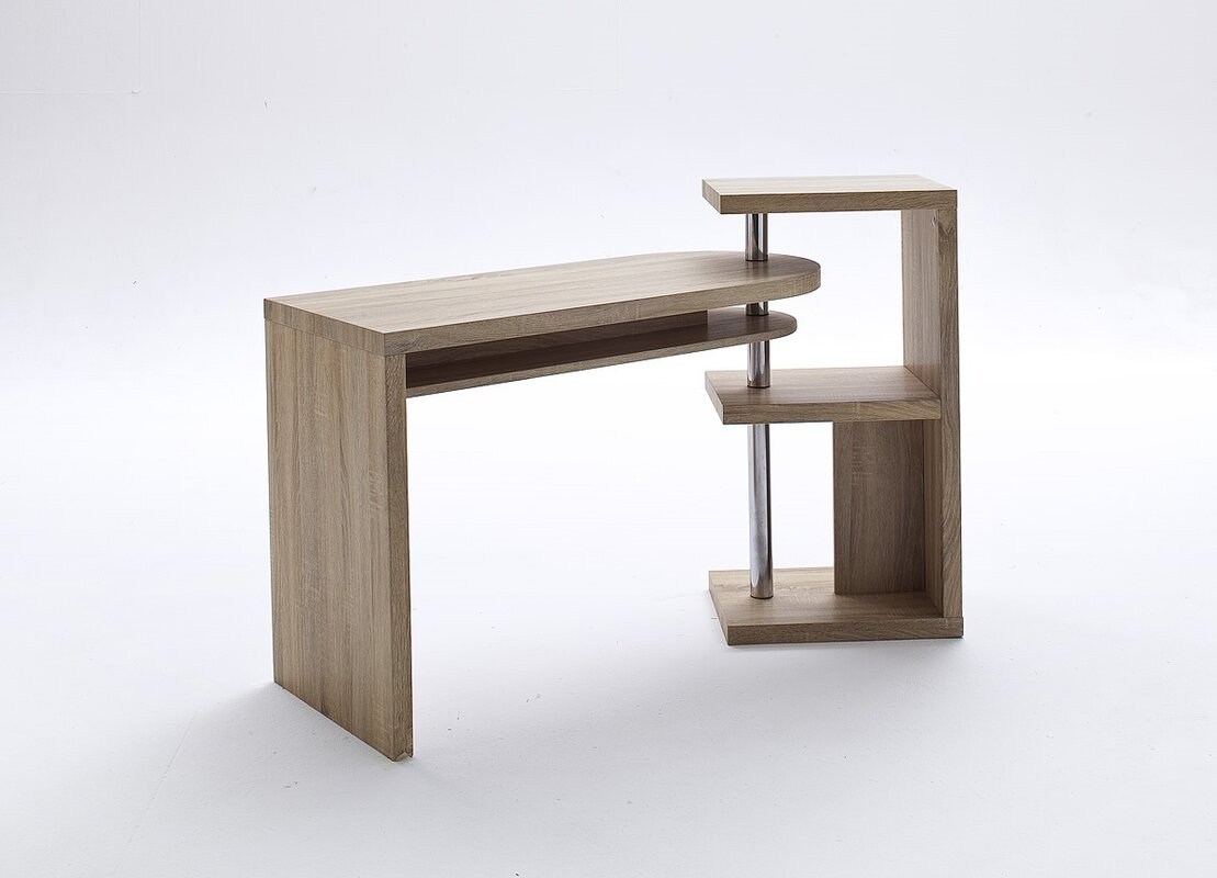 Eckschreibtisch holz  L-Shaped Commercial Office Desks | Wayfair.co.uk