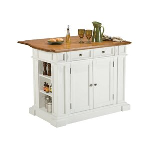 Kitchen Island New Leaf kitchen islands & carts - kitchen & dining furniture | wayfair