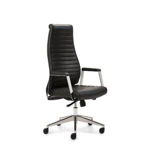 Drehstuhl Deluxe aus Leder von Mayer Sitzmöbel