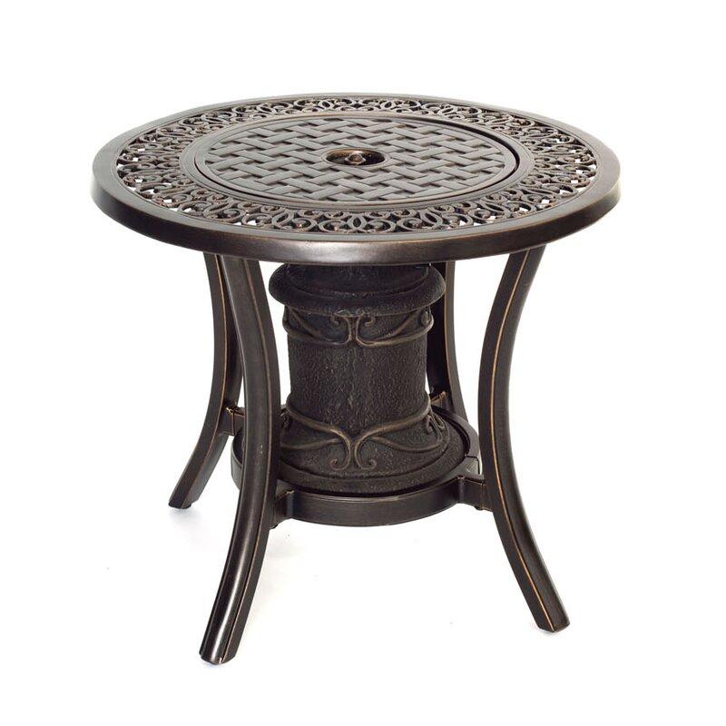 Gentil Aluminum Propane Fire Pit Table