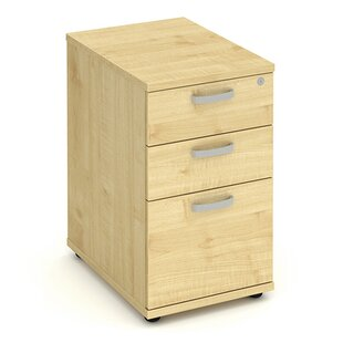 Impulse 600 Desk High Pedestal 3 Drawer Filing Cabinet ...