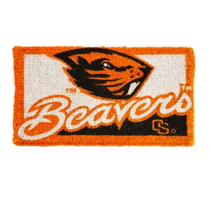 NCAA Oregon State Welcome Graphic Printed Doormat