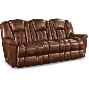 Maverick Leather Reclining Sofa by La-Z-Boy