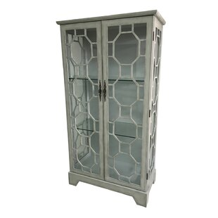 Mason 2 Door Painted Glass Curio with Fretwork Cabinet  sc 1 st  Wayfair & Fretwork Cabinet | Wayfair