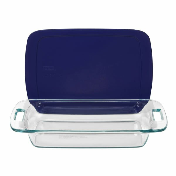 Pyrex Pyrex Easy Grab 3 Qt Oblong Baking Dish With Cover
