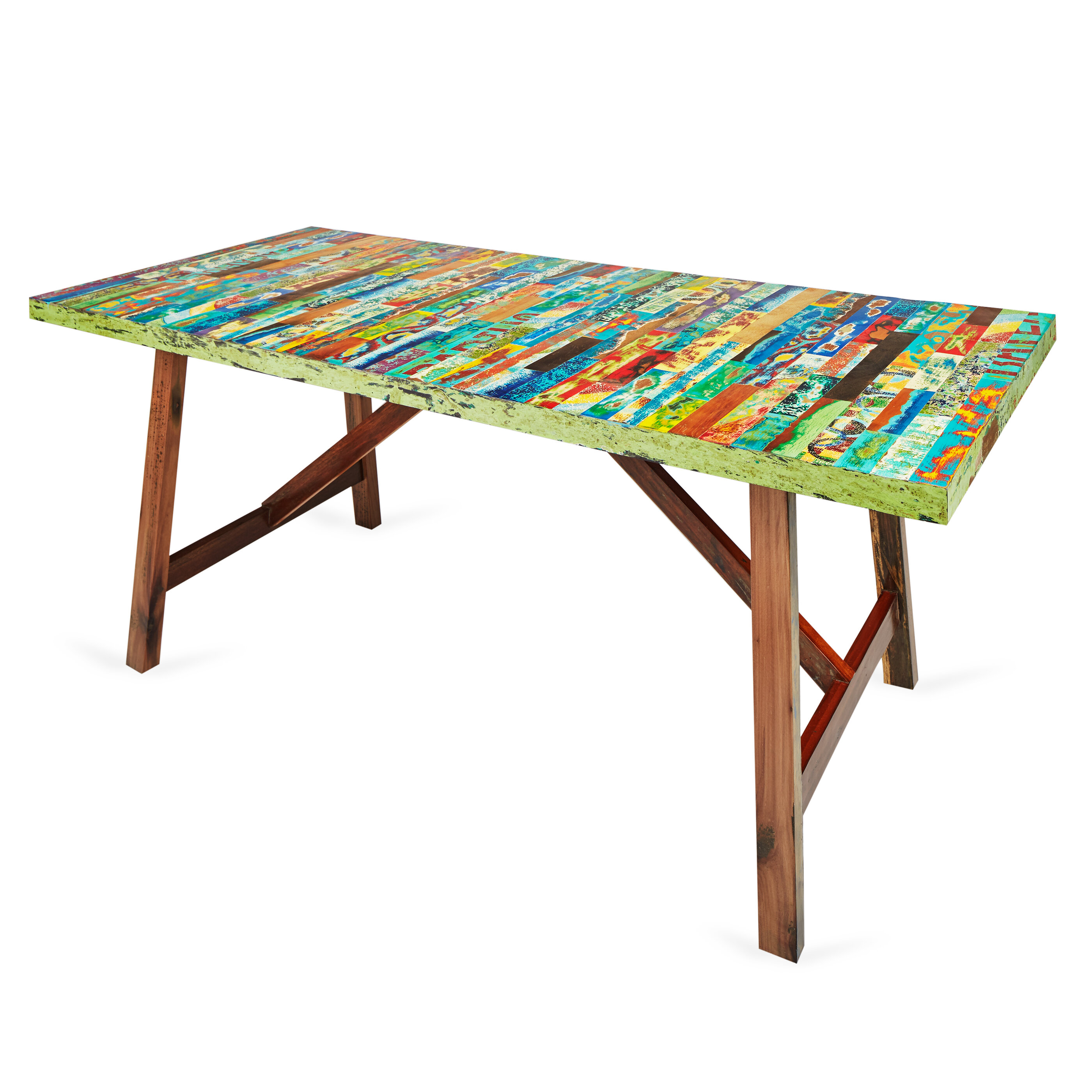 Good EcoChic Lifestyles Buoy Crazy Dining Table | Wayfair