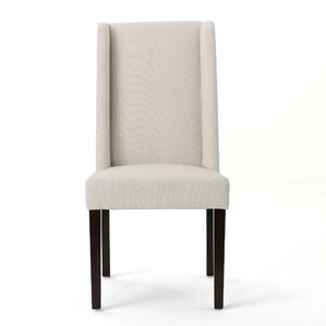 Blaisdell Upholstered Dining Chair (Set of 2) by Alcott Hill