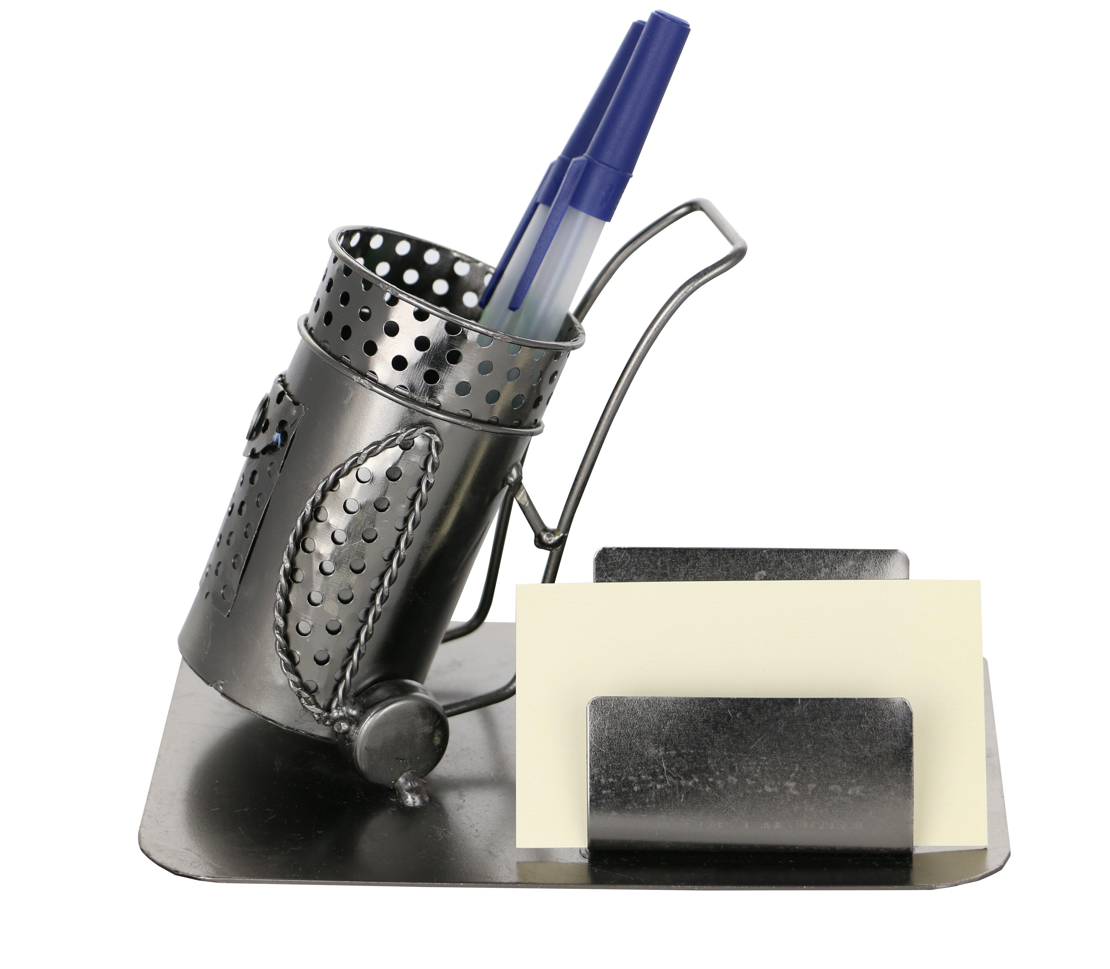Winston Porter Labbe Golf Bag Pen and Metal Business Card Holder ...