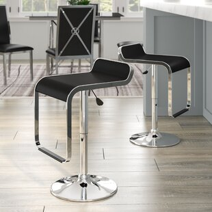Wilton Adjustable Height Swivel Bar Stool (Set of 2)