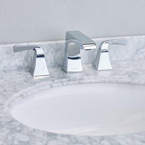 Butterflyu00ae Double Handle Deck Mount Widespread Bathroom Faucet