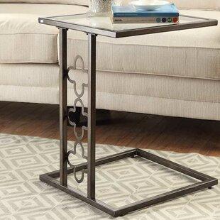 Denton Quatrefoil End Table