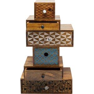 6-tlg. Schubladenkombi-Set Soleil von KARE Design
