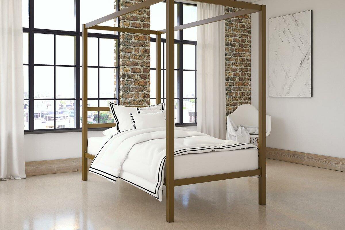 Stanley Canopy Bed & Mercer41 Stanley Canopy Bed u0026 Reviews | Wayfair