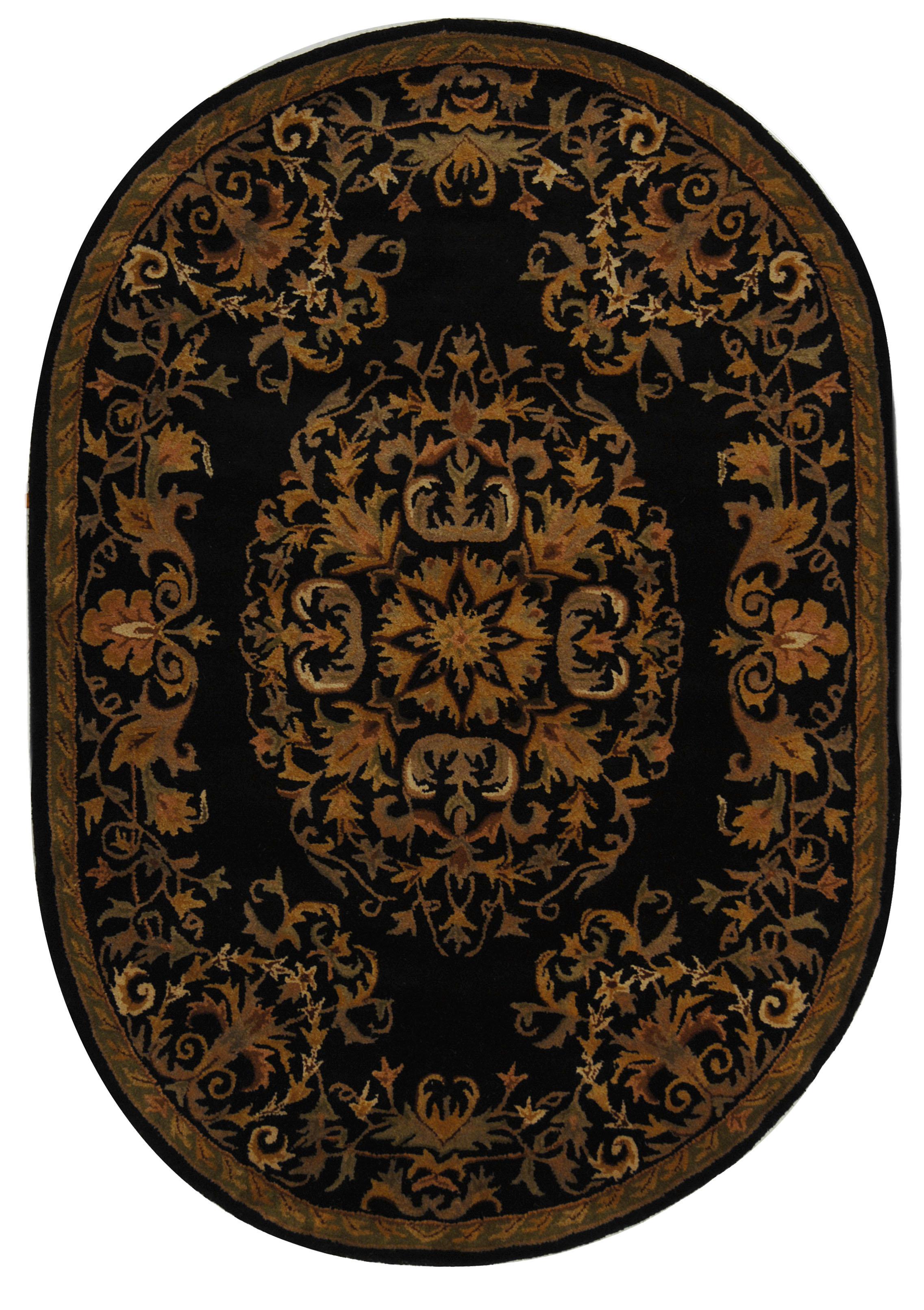 Astoria Grand Balthrop Black Gold Area Rug Reviews Wayfair