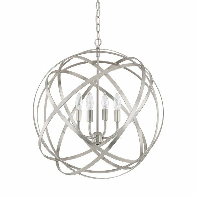 Kierra 4-Light Globe Pendant & Reviews | AllModern